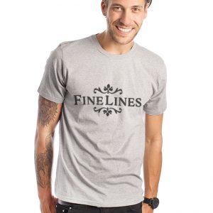 Fine Lines Men's T-Shirt
