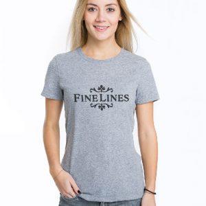 Fine Lines Women'svT-Shirt